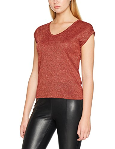 Only, T-Shirt Donna Rosso (Sun-dried Tomato)