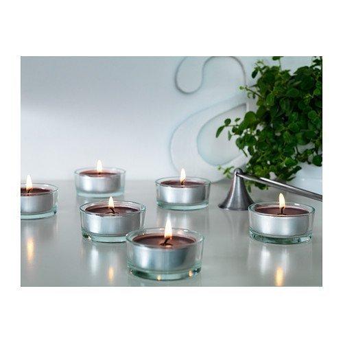 Ikea Home Indoor Scented Tealight Calming Spa Gray - 30 Pack