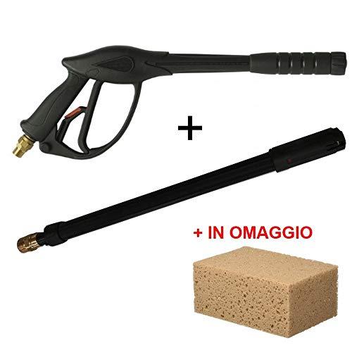 F.p.distribuzioni lavor ricambi pistola al15 + lancia getto turbo rotox - alta pressione - attacco m22 per idropulitrici professionali acqua calda fredda