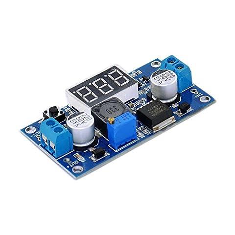 tolako LM2577Contrôle Buck DC 3–34V à 4–35V Transformateur élévateur de tension Régulateur Module 24V 12V à 5V 3A Onduleur V Stabilisateur avec affichage LED rouge