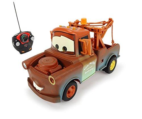 Dickie Toys 203089502 - RC Hook (Mater), funkferngesteuerter Abschleppwagen, 19 cm