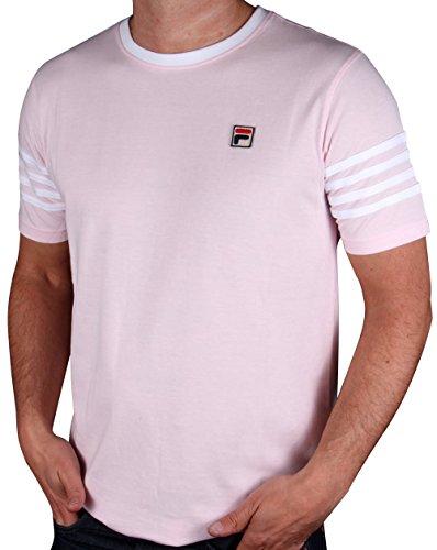 fila-vintage-4-stripe-ringer-t-shirt-pink-white-s