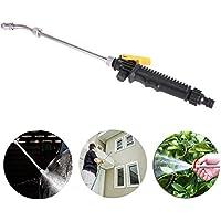daxiongdi Pistola de agua de alta presión jardín lavadora de alta presión pistola de agua boquilla rociador rociador herramienta