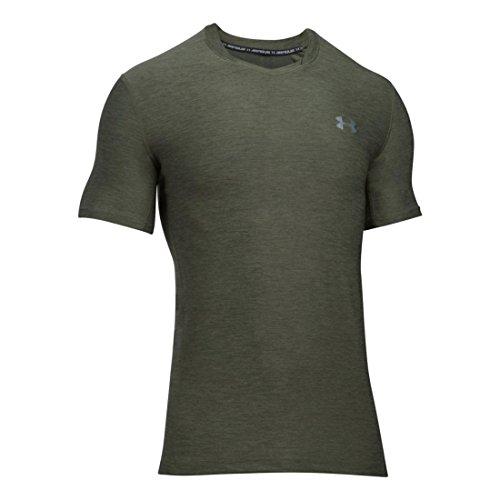 Under Armour HeatGear SuperVent Trainingsshirt Herren grün