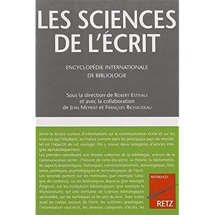 Les Sciences de l'écrit (Références Retz)