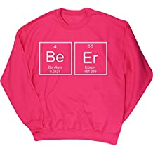 HippoWarehouse Beer Elements Periodic Table Jersey Sudadera suéter Derportiva Unisex
