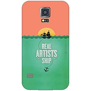 Samsung Galaxy S5 real artists Phone Cover - Matte Finish Phone Cover