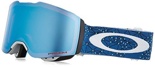 Oakley Unisex-Erwachsene Fall Line 708519 0 Sportbrille, Blau (Galaxy Bluee Laser/Prizmsnowsapphireiridium), 99