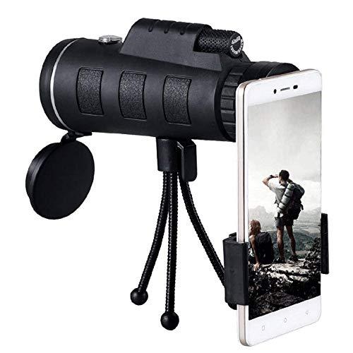 ZAIHW Neues Monokular, 40x60 Weitwinkel-Monokular-Teleskop Dual-Focus-Optik Zoom-Teleskop...