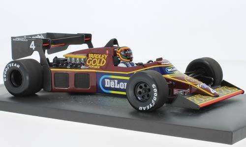 Unbekannt Tyrrell Ford 012, No.4, Formel 1, GP Monaco, 1984, Modellauto, Fertigmodell, Minichamps 1:18