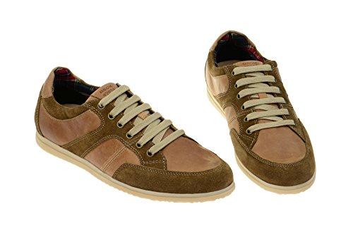 Sekka jewelry copacabana geox respira sneakers homme en cuir marron Marron