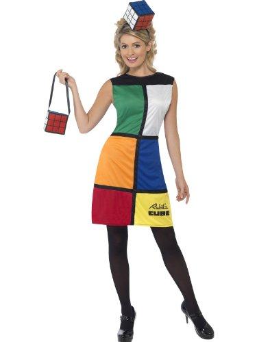 Generique - Zauberwürfel Kostüm für Damen ()