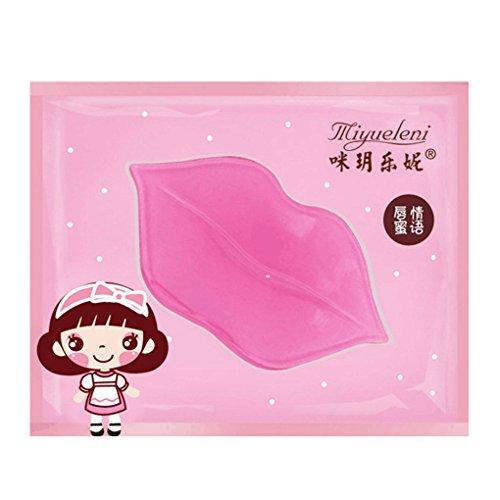Babysbreath Collagen Lip Maske Feuchtigkeit Essenz Lippenpflege Lippen Balm Pads Anti Aging (Maske Gold Und Rot)