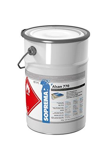 ALSAN PMMA Flüssigkunststoff - 770 10,0 kg/Gebinde - RAL 7035 lichtgrau - 2-komponentig inkl. Katalysator   schnellhärtendes Abdichtungsharz für flächige Abdichtungen