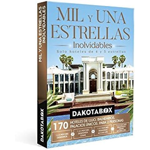 DAKOTABOX - Caja Regalo - MIL Y UNA ESTRELLAS INOLVIDABLES - 170 Hoteles únicos de 4 y 5*: hoteles, balnearios, palacios,