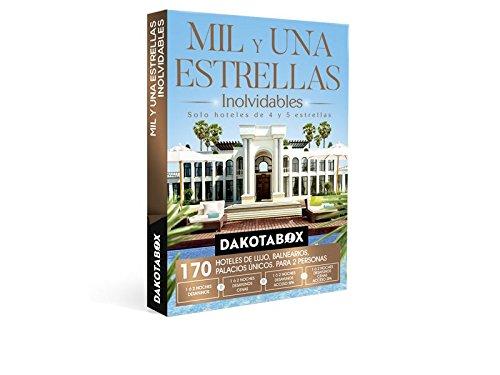 DAKOTABOX – Caja Regalo – MIL Y UNA ESTRELLAS INOLVIDABLES – 170 Hoteles únicos de 4 y 5*: hoteles, balnearios, palacios, conventos…