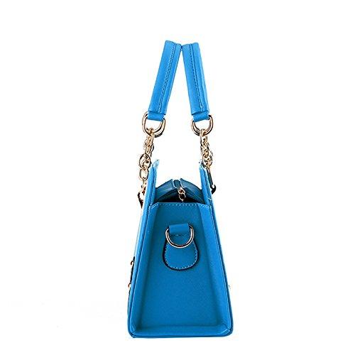 NiaNia ,  Damen Tasche Cremefarben
