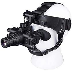 MCJL Auriculares Infrarrojos HD visión Nocturna monocular monocular Gafas de visión Nocturna Digital Conjunto