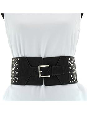 Fashiongen - Cinturón Elástico de Ancho ADELE
