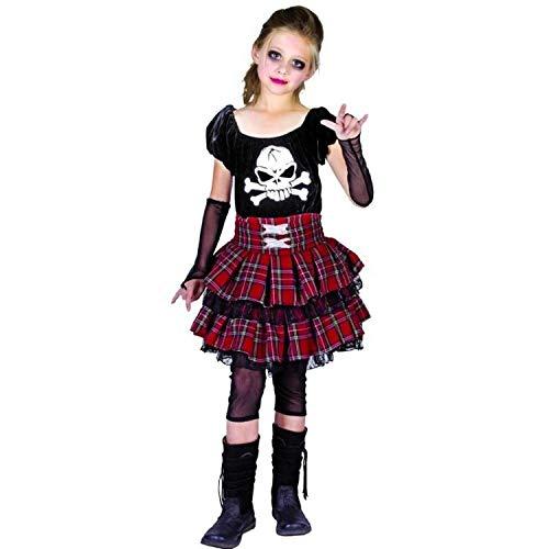 Unbekannt P'tit Clown 88154Kostüm für Kinder Luxe Punk ()