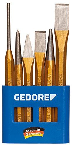 GEDORE Werkzeugsatz 6-teilig im PVC-Halter, 1 Stück, 106