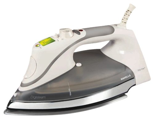 Havells Digisteam 2000-Watt Steam Iron (Grey and Off white)