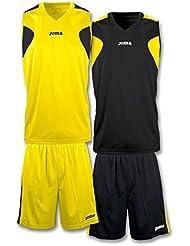 Joma - Set basket reversible ama-ngr jersey+short para hombre