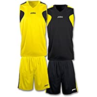 Joma Set Reversible Basket Yellow/Black, Taglia: S
