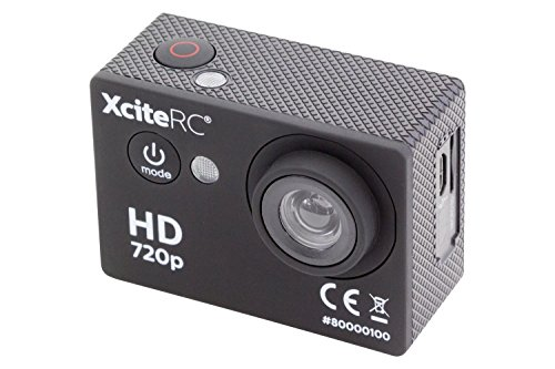 XciteRC 80000100 Action HD 5 MP Kamera, schwarz