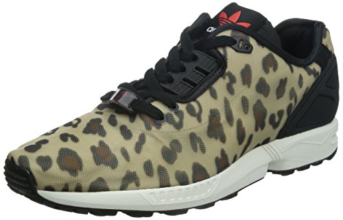Adidas - Zx Flux Decon, Sneakers da uomo Multicolore (dust sand s15-st/core schwarz/rot)