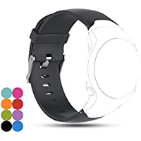 For Garmin Approach S3 GPS Golf Watch Band, iFeeker Accessory Soft Silicone Gel Replacement Watchband Wrist Strap Bracelet for Garmin Approach S3 GPS Golf Watch