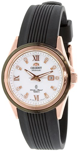 Orient Women's Sporty NR1V001B Black Resin Automatic Watch