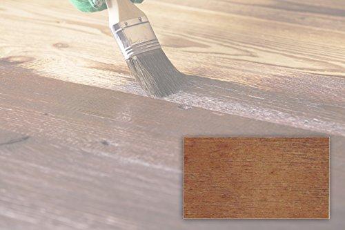 BEKATEQ LS-236 Dickschichtlasur Dauerschutzlasur Deckende Holzlasur | Holzschutzlasur Wetterfest, UV-fest, Wasserabweisend (2,5L Eiche)