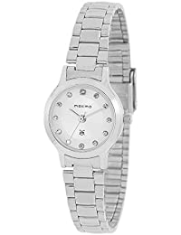 Maxima Analog Silver Dial Women's Watch-10075CMLI