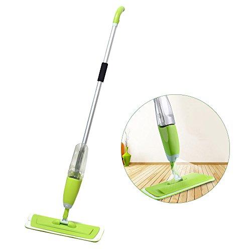 Dampf-mop Abnehmbare (Spray Mop – Bodenwischer mit Zerstäuber integriertem – Sprüh Mop Sprühwischer multifunktionaler - lebenslange Garantie – Kapazität von 600 ml)
