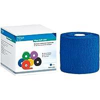 Höga Pharm Haft-Color blau 10 cm x 20 m gedehnt, kohäsive (selbsthaftende) elastische Fixierbinde, luftdurchlässig... preisvergleich bei billige-tabletten.eu