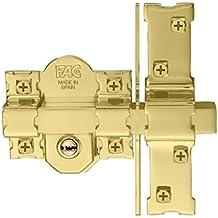 FAC 946-LP/80 - Cerrojo UVE, acabado dorado