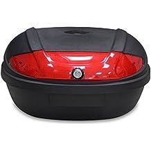 Todeco - Top Case Universal, Maletín Para Moto - Material: PP - Tamaño:
