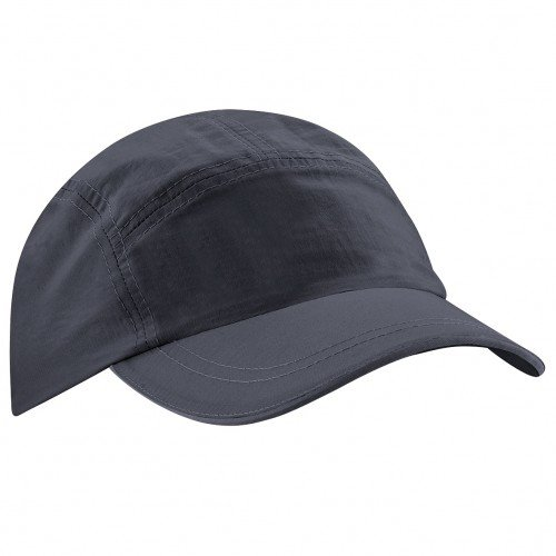 Beechfield - Gorra/Visera de deporte Impermeable y transpirable Tactel® - Verano/Piscina (Talla Única/Gris grafito)