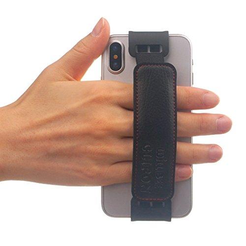 WiLLBee CLIPON 2 für Smartphone (Smartphone Größe : 5.4~6 Zoll) Elastisches Halteband Hand Griffgefühl hülle Halter für Handys - iPhone X/iPhone 8 / iPhone 7 / iPhone 6S / iPhone 6