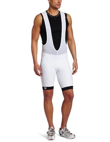 Pearl Izumi pour homme Elite Ltd court à bretelles moyen blanc/noir