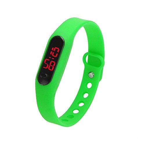 Skang Digitale Armbanduhr, Outdoor Laufen wasserdichte Uhren, LED-Licht Sportuhr Für Frauen und Männer Teenager Jungen Mädchen(one Size,I)