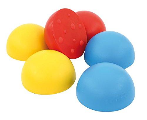 Satz mit 6 Balancier-Halbkugeln - Balance Gleichgewicht halten Kinder Übungen balancieren Sport Bewegung Turnen Turnunterricht Schule Schüler Ganztagsbetreuung (Balance-halbkugel übung)