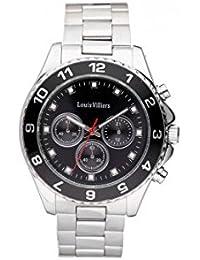 Reloj hombre Louis Villiers acero negro 45 mm lvag5877 – 8