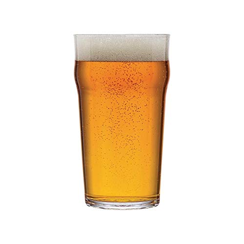 Arcoro Nonic Pinte - Bierglas, 57 cl, 6 Stück Glas Pint Glas