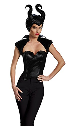 Maleficent Erwachsene Kostüm Bustier (Medium)