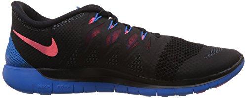 Nike Free 5.0, Chaussures de Running Homme Noir (black/hypr Pnch-pht Bl-anthrct 002)