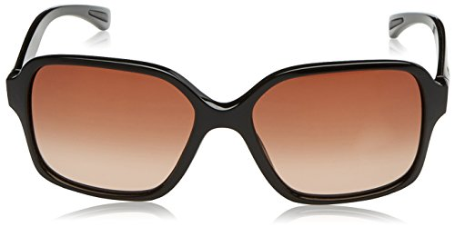 Oakley Proxy Lunettes de Soleil Femme Polished Black/Brown Gradient
