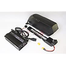 48V 14.5AH Panasonic 3.7V 2900mAH Cells 18650 Cell Down Tube TIGER SHARK Li-ion Battery With BMS Board 5A Charger For Ebike