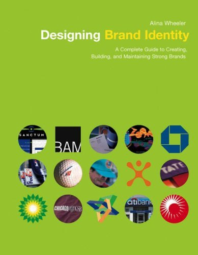 Portada del libro The Designing Brand Identity: A Complete Guide to Creating, Building, and Maintaining Strong Brands by Alina Wheeler (2003-02-18)